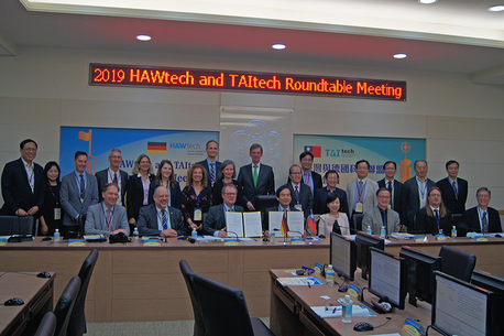 First Roundtable of HAWtech and TAItech in Taiwan (Credit: HTW Dresden/Terpe)